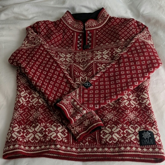 Dale of Norway Sweaters - DALE heritage knitted wool sweater